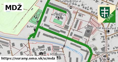 ilustrácia k MDŽ, Šurany - 1,01km