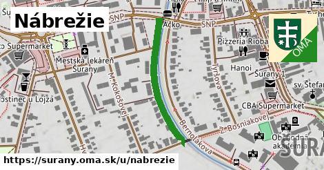 ilustrácia k Nábrežie, Šurany - 306m