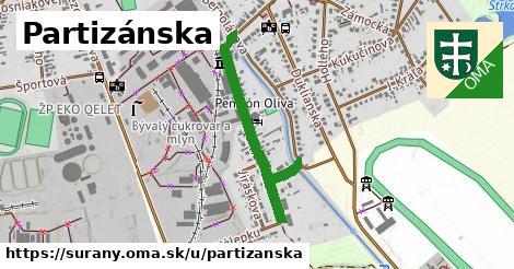 ilustrácia k Partizánska, Šurany - 694m
