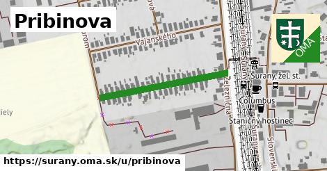 ilustračný obrázok k Pribinova, Šurany