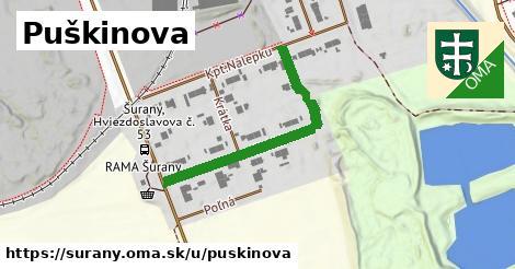 ilustrácia k Puškinova, Šurany - 372m