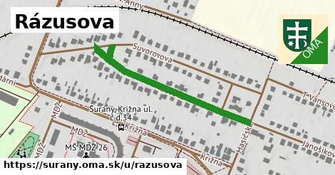 ilustrácia k Rázusova, Šurany - 432m