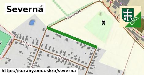 ilustrácia k Severná, Šurany - 278m