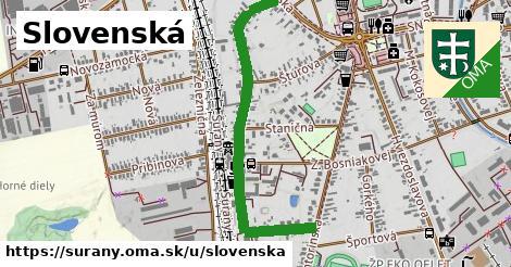 ilustračný obrázok k Slovenská, Šurany