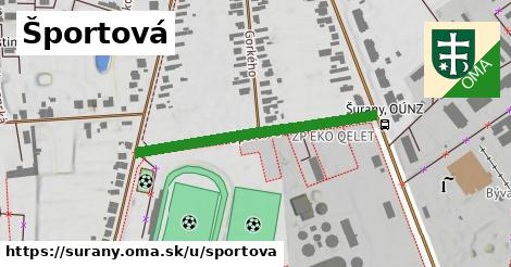 ilustračný obrázok k Športová, Šurany