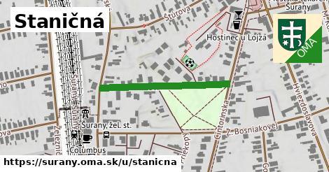 ilustrácia k Staničná, Šurany - 296m
