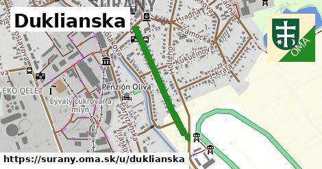 ilustrácia k Duklianska, Šurany - 585m