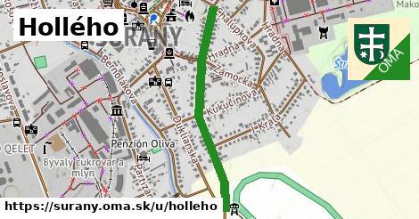 Hollého, Šurany