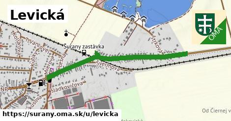ilustrácia k Levická, Šurany - 1,00km