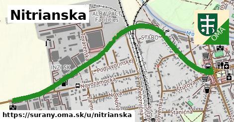 ilustrácia k Nitrianska cesta, Šurany - 2,9km