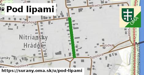 ilustrácia k Pod lipami, Šurany - 211m