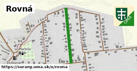 ilustrácia k Rovná, Šurany - 306m