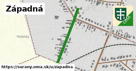 Západná, Šurany