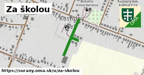 ilustrácia k Za školou, Šurany - 249m