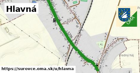 ilustrácia k Hlavná, Šúrovce - 1,00km