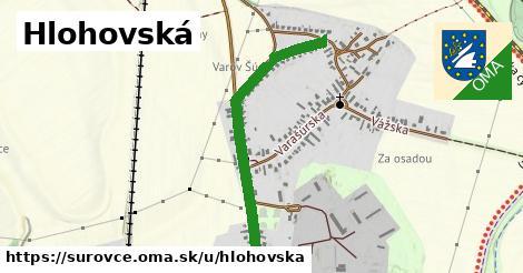 ilustrácia k Hlohovská, Šúrovce - 544m
