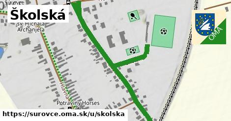 ilustrácia k Školská, Šúrovce - 435m