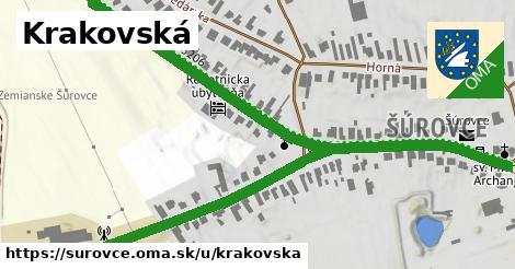 ilustrácia k Krakovská, Šúrovce - 0,94km