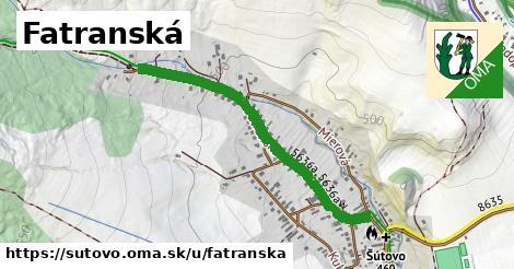 ilustrácia k Fatranská, Šútovo - 1,02km