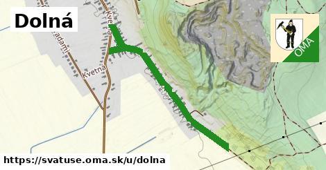 ilustrácia k Dolná, Svätuše - 0,88km