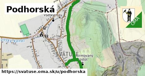 ilustrácia k Podhorská, Svätuše - 1,00km