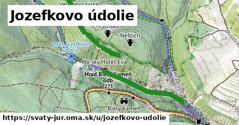 ilustrácia k Jozefkovo údolie, Svätý Jur - 553m