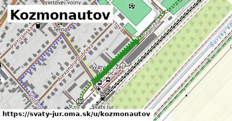 ilustrácia k Kozmonautov, Svätý Jur - 321m