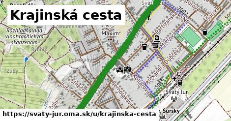 ilustrácia k Krajinská cesta, Svätý Jur - 4,7km