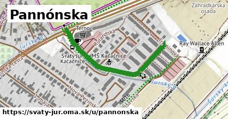 ilustrácia k Pannónska, Svätý Jur - 579m