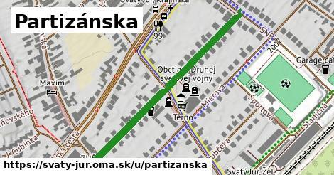 ilustrácia k Partizánska, Svätý Jur - 471m