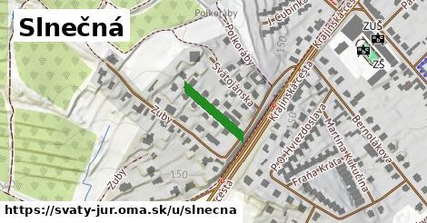 ilustrácia k Slnečná, Svätý Jur - 135m