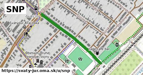 ilustrácia k SNP, Svätý Jur - 406m