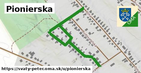 ilustrácia k Pionierska, Svätý Peter - 0,70km