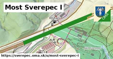 ilustrácia k Most Sverepec I, Sverepec - 0,94km