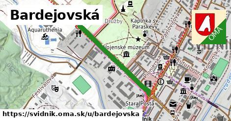 ilustrácia k Bardejovská, Svidník - 628m