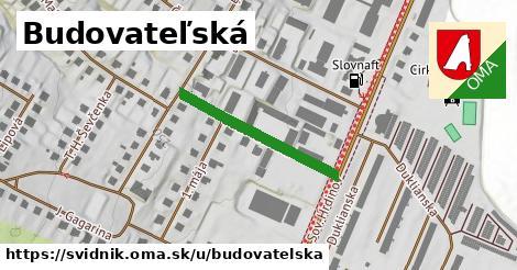 ilustrácia k Budovateľská, Svidník - 255m