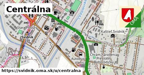 ilustrácia k Centrálna, Svidník - 1,01km