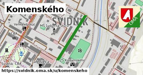 ilustrácia k Komenského, Svidník - 397m