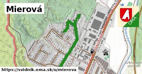 ilustrácia k Mierová, Svidník - 480m