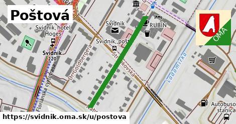 ilustrácia k Poštová, Svidník - 373m