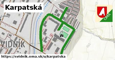 ilustrácia k Karpatská, Svidník - 545m