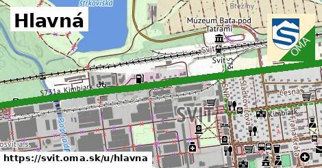 ilustrácia k Hlavná, Svit - 3,5km