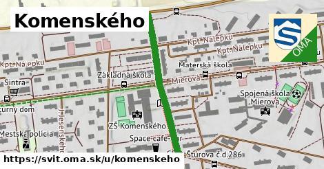 ilustrácia k Komenského, Svit - 332m