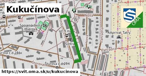 ilustrácia k Kukučínova, Svit - 303m