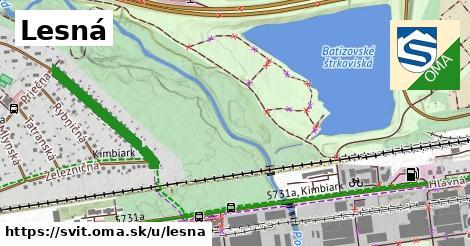 ilustrácia k Lesná, Svit - 429m