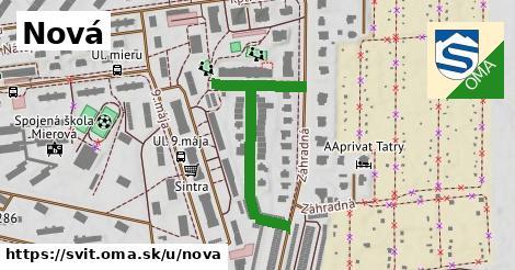 ilustračný obrázok k Nová, Svit