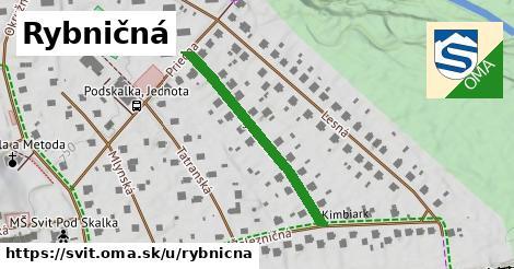 ilustrácia k Rybničná, Svit - 316m
