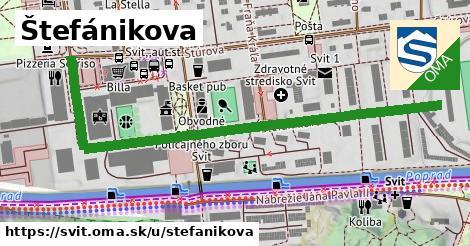 ilustrácia k Štefánikova, Svit - 0,72km