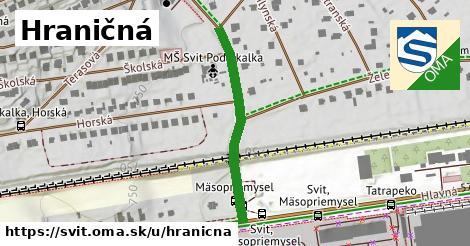 ilustrácia k Hraničná, Svit - 310m