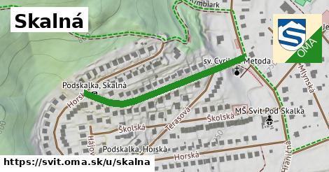 ilustrácia k Skalná, Svit - 383m